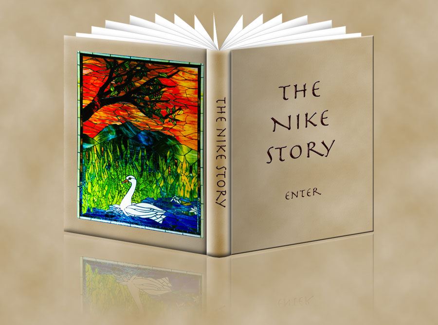 Dedicated to Nicole Toroosian. The Nike Story™ is The untold mythical story of the Goddess Nike. Alis volat propriis.